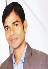 Margshree faculty Amit Krishnavansh