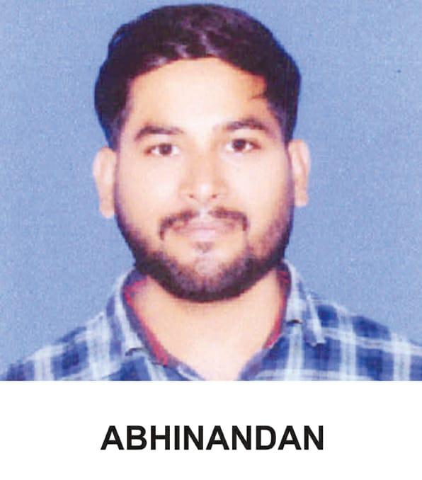 abhinandan topper from iit