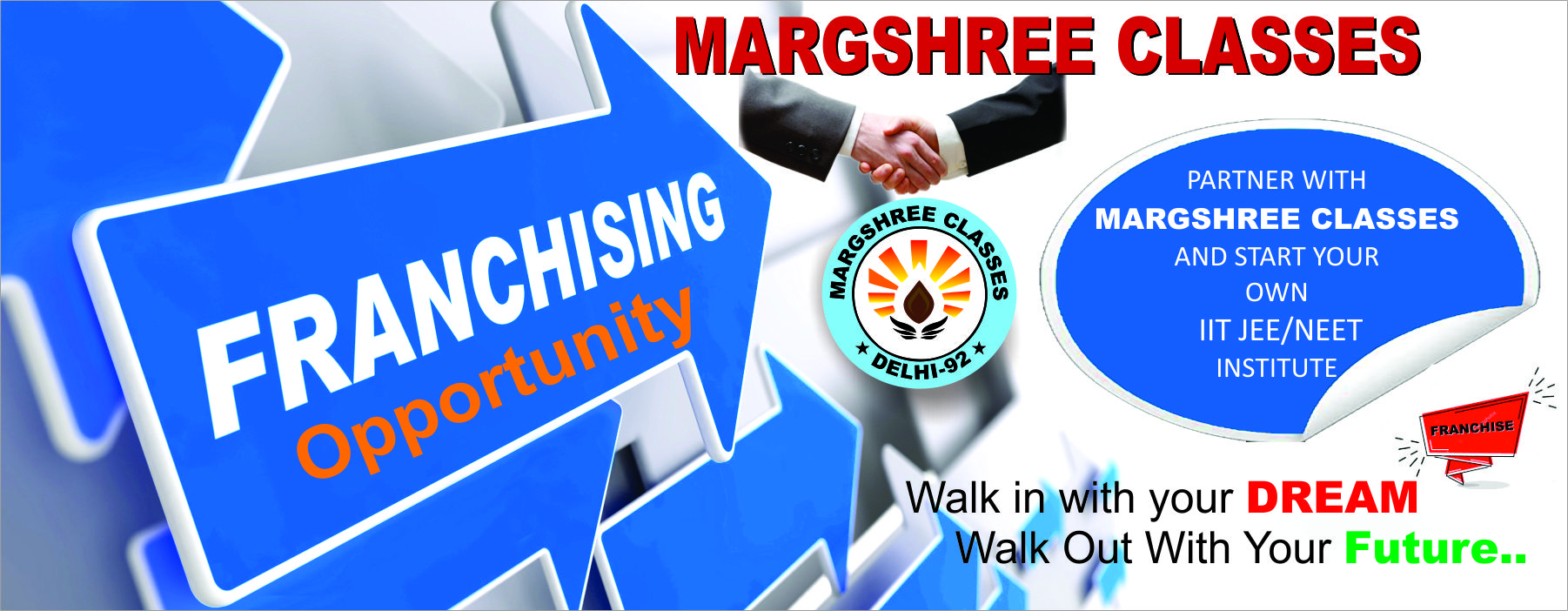 franchise business with margshree coaching